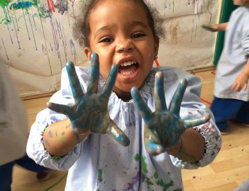 Pintem amb glaçons – P2