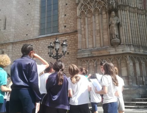 """""""Viatge a la Barcelona medieval""""  C.S"""